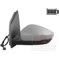 Viewmax Ayna Komple Elektrıklı Astarlı Isıtmalı Sinyallı Kalın Soket Sol Vw Polo 2010 Vıe Vm388Ehpal