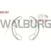 Walburg Fren Pabuç Balata Arka Mazda 323 V Ba 1.5İ 16V Genıs Tıp Yapıstırma 200X35 6 Mm 1994 1998