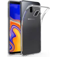 Melikzade Samsung Galaxy J6 Plus Premium Şeffaf Silikon Kılıf