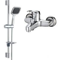 Hms Aç Kapa Banyo Bataryası ve Kardelen Moda Sürgülü Duş Seti