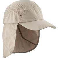 Oquceha Erkek Trekkıng Şapkası Bej Uv Korumalı Çıkarılabilen Ense Koruması