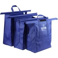 Trolley Bags 3'lü Filesiz Pratik Alışveriş Çanta Sistemi