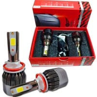 Gold Şimşek Etkili LED Xenon Far Ampul H4 8000K Carway