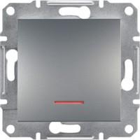 Schneider Electric Asfora Plus Işık Anahtar Çelik
