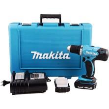 Makita DDF453SYE 18 V / 1.5 Ah Lityum Akülü Matkap Vidalama (Çift Akülü)