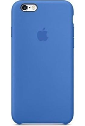 Casethrone Apple iPhone 6 Plus-6s Plus Lansman Kraliyet Mavisi Silikon Kılıf Kauçuk Arka Kapak