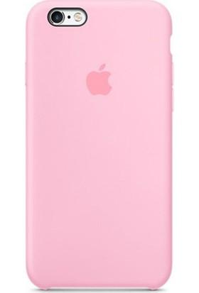 Casethrone Apple iPhone 6 Plus-6s Plus Lansman Şeker Pembesi Silikon Kılıf Kauçuk Arka Kapak