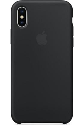 Casethrone Apple iPhone Xs Max Lansman Siyah Silikon Kılıf Kauçuk Arka Kapak
