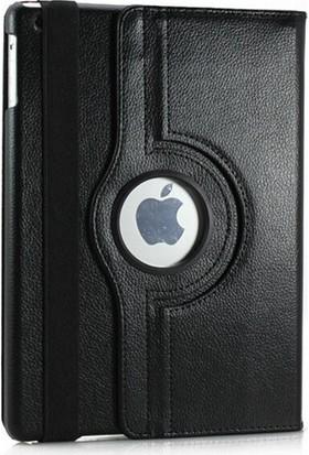 Fujimax ipad Air 3.Nesil 10.5 İnç A2152 A2123 A2153 A2154 Seri Siyah 360 Derece Döner Tablet Kılıf + Kalem + 9H Temperli Ekran Koruyucu + Kulaklık + Şarj Seti
