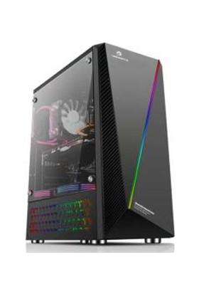 GameBooster GB-L05B USB3.0 Siyah Rainbow RGB Fan Strip Kasa (PSU Yok) (JBST-GBL05B)