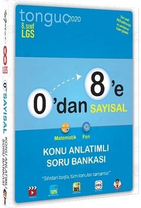 Tonguç Akademi 0'dan 8'e Sayısal Konu Anlatımlı Soru Bankası
