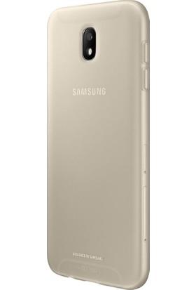 Samsung J7 2017 Koruyucu Kılıf Gold EF-AJ730TFEGWW