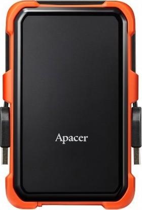 Apacer AC630 2TB USB 3.1 Askeri Sınıf Darbeye Dayanıklı Taşınabilir Disk Turuncu AP1TBAC630T-1