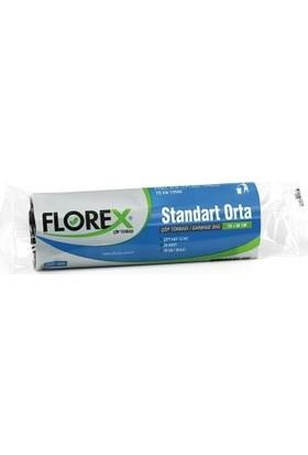 Florex Orta Boy Çöp Poşeti 55x60 80 GR 50 Rulo
