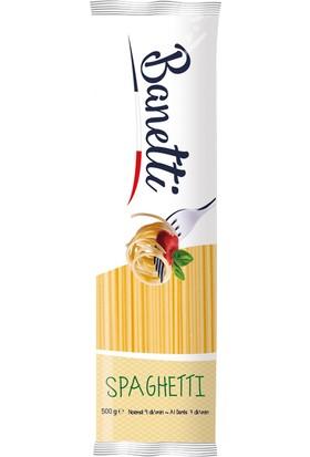 Banetti Spaghettı Makarna 500 gr