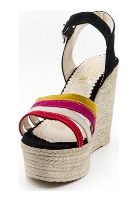 Lizette 61 Lizette Kadın Sandalet Siyah