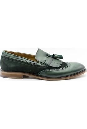 Trend 047 Trend Erkek Ayakkabı Yeşil