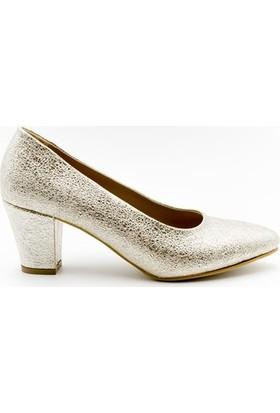 Aktenli 1829111 Kadın Ayakkabı Altın