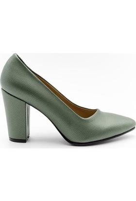 Aktenli 1832165 Kadın Ayakkabı Yeşil