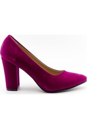 Aktenli 32165 Kadın Ayakkabı Fuşya