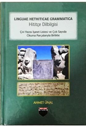 Hititçe Dilbilgisi - Ahmet Ünal