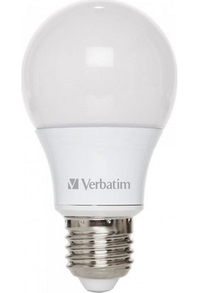 Verbatim Led Ampul Ampul Classic A E27 6.ow 2700K Ww 810LM 220 Degree Frosted 052600-204