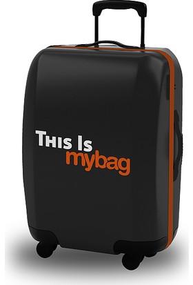 Mybag Orange Akıllı Valiz Kılıfı