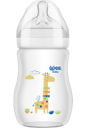 Wee Baby Natural PP Biberon 250 ml - ZÜRAFA
