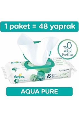 Prima Pampers Aqua Pure 48 Yaprak Islak Mendil