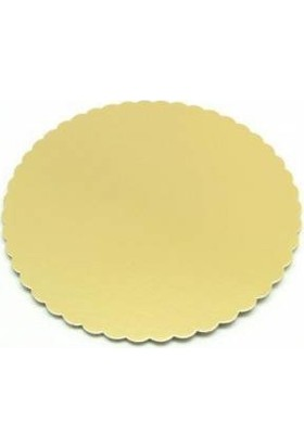 Cakes Party Pasta Altlığı Gold Mendil 22 cm Ince 10 Adet