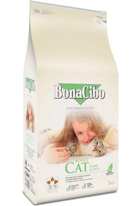 Bonacibo Adult Cat Lamb & Rice Kuzu Etli ve Pirinçli Yetişkin Kedi Maması 5 kg