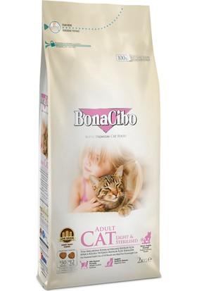 Bonacibo Adult Cat Light - Sterilised Kısırlaştırılmış Kediler İçin Yetişkin Kedi Maması 2 kg