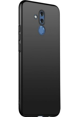 Melikzade Huawei Mate 20 Lite Kamera Korumalı Mat Ince Silikon Kılıf