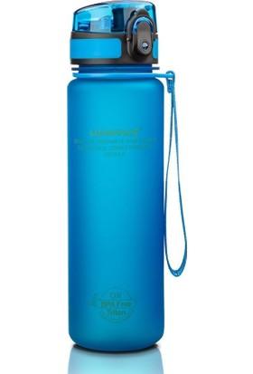 Uzspace 3026 - 500 ml Mavi Tritan Kırılmaz Matara/suluk