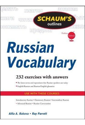 Schaum's Out Lines Russian Vocabulary - Ray J. Parrott