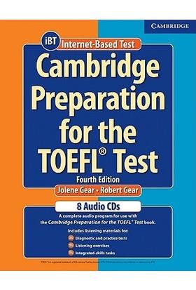 Cambridge Preparation For The Toefl Test 8 Audio Cds - Jolene Gear