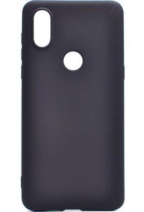 CoverZone Xiaomi Mi play Kılıf Premier Silikon Kılıf Siyah -PRE410