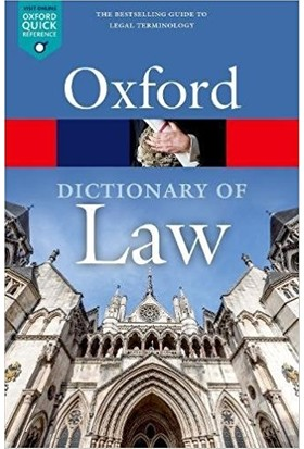 Dictionary Of Law - Jonathan Law