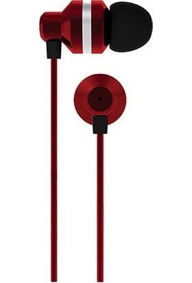 Coby Cvpe-05-Red HY6RID Mikrofonlu Kulakiçi Kulaklık