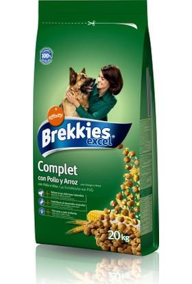 Brekkies Complet Köpek Maması Tavuklu 20 Kg