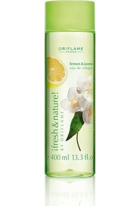 Oriflame Fresh & Nature Yasemin Çayı Ve Limon Kolonyası 400 Ml