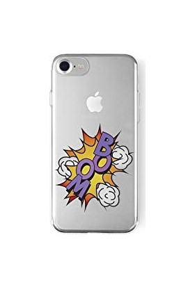 La Vie Apple iPhone 6 Soft Case Print Boom