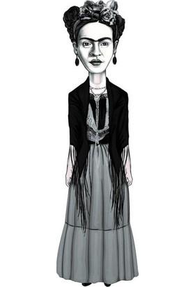 Frida Kahlo (Karikatür) - Ayraç