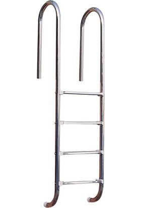 Powerpool U 304 Model Paslanmaz Çelik 2 Basamaklı Merdiven