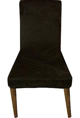 Gülizhome Sandalye Kılıfı Kadife K.yeşil