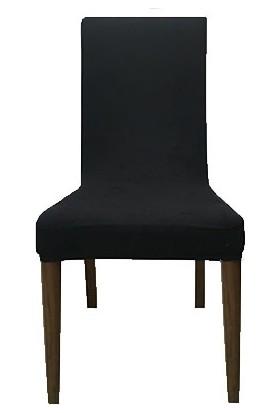 Gülizhome Sandalye Kılıfı Süet Lacivert