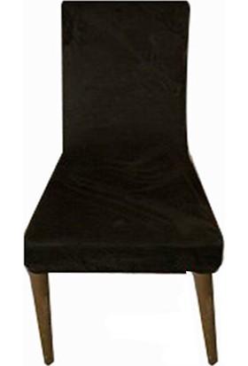 Gülizhome Sandalye Kılıfı Süet Haki