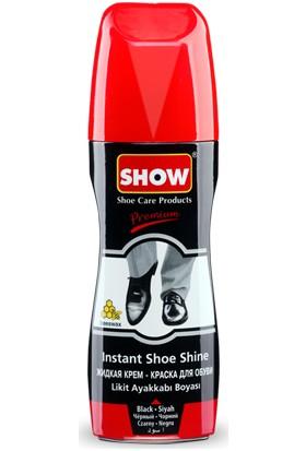 Show Likit Ayakkabı Boyası 75Ml Siyah