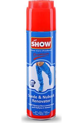 Show Süet Nubuk Sprey 250 ML mavi