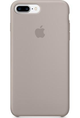 Daytona Apple iPhone 7/8 Plus Silikon Kılıf Koyu Gri
